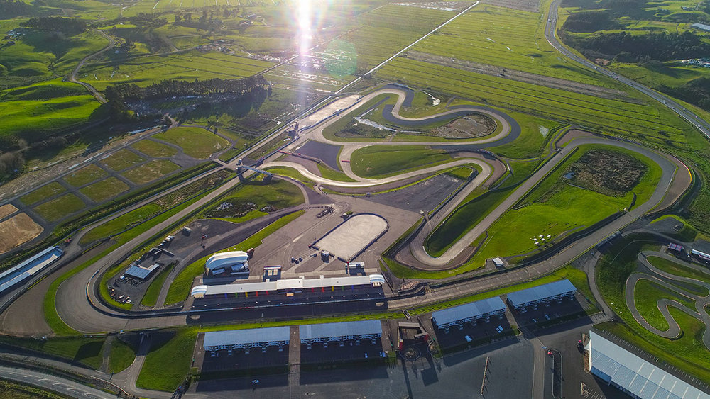 Hampton Downs aerial