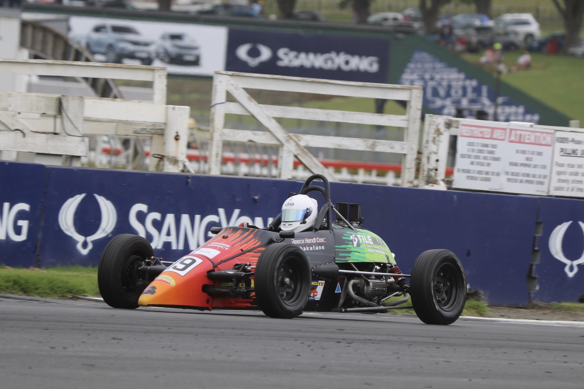 Hendl-Cox Wins Pukekohe